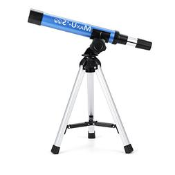 MaxUSee Refractor Telescope for Kids, Portable Telescope wit