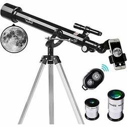 Refractors Telescope, 60mm Aperture 700mm AZ Mount Astronomy