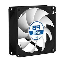 ARCTIC F8 Silent, 80 mm 3-Pin Fan with Standard Case and Hig