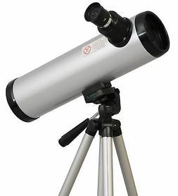 Silver Twinstar 76mm Compact Kids Cassegrain Telescope