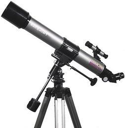 Silver TwinStar 70mm Refractor Telescope