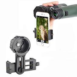 Spotting Scope Smartphone Camera Adapter, Telescope Camera A