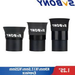 """SVBONY SV114 1.25""""Eyepiece kits K9/K17.5/K25mm 3Element Kell"""