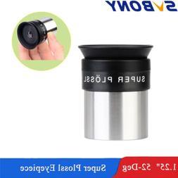 "SV118 1.25"" SPL Super Plossl Eyepieces 9.7mm FMC  Lens for A"