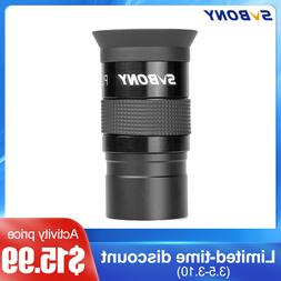"""SVBONY 1.25"""" Plossl 25mm Fully Multicoated Eyepieces For Ast"""
