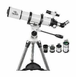 Gskyer AZ90600 Telescope Astronomical Refractor w Replaceabl