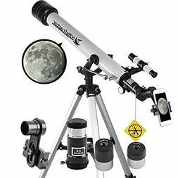 Telescope 60mm Apeture 700mm AZ Telescope - Refractor &