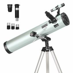 ToyerBee Telescope 76mm Aperture 700MM, with 3 Eyepieces H20