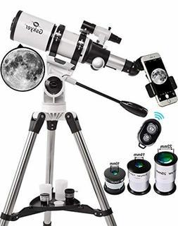 Gskyer Telescope, Telescopes for Adults, 80mm AZ Space Astro