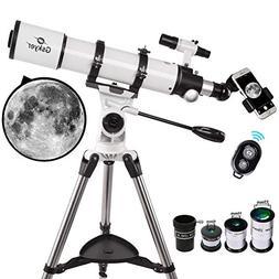 Telescope, Gskyer 90mm Aperture 600mm AZ Astronomical Refrac