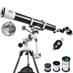 Gskyer Telescope, Astronomy Refractor Telescope, 80mm Apertu