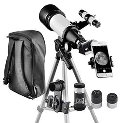 Telescope for Kids and Beginners Travel Scope 70mm Apeture 4