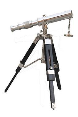 "PARIJAT HANDICRAFT 10"" Travel Telescope with Stable Tripod V"