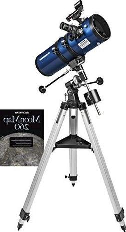 Telescope for Adults Kids Astronomy Beginners Equatorial Mou