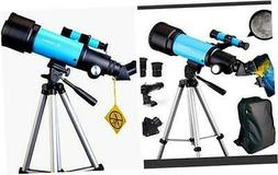 Telescope for Kids Adults Astronomy Beginners 70mm Refractor