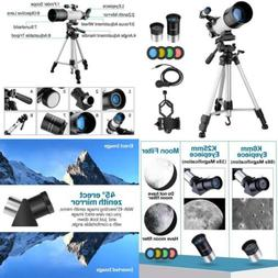 MAXLAPTER Telescope for Kids Adults Astronomy Beginners, 70m