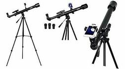 Telescope for Kids and Adults 50mm Smart Portable Travel Tel