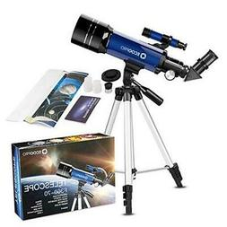 Telescope for Kids Beginners Adults, 70mm Astronomy Refracto
