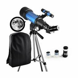 Moutec Telescope for Kids Beginners - Travel Scope 70mm Apet