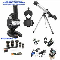 TELESCOPE FULL TRIPOD LUNAR AND FOR STAR OBSERVATION + MICRO
