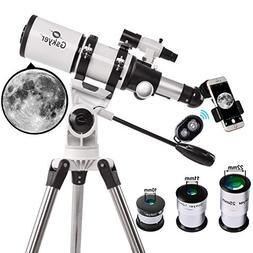 Telescope, Gskyer 80mm ApertureAstronomy Refractor Telesco