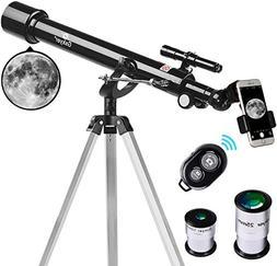Telescope, 60mm Aperture 700mm AZ Mount Astronomy Refractor