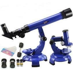 ⭐Telescope Microscope Set Science | Nature Educational | A