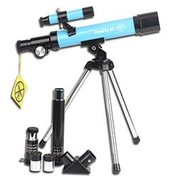 Telescope 400x40mm with Tripod & Finder Scope, Portable Tele