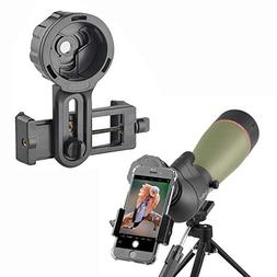 Gosky Telescope Phone Photo Adapter - Compatible Spotting Sc