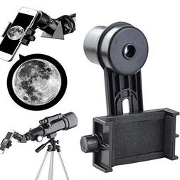 Gosky 1.25inch Telescope Smartphone Adapter - With 10mm Eyep