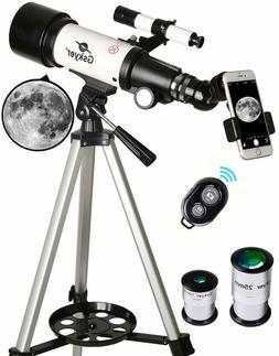 Gskyer Telescope, Travel Scope, 70mm Aperture 400mm AZ Mount