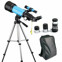 Telescope Travel Scope Portable 70mm Astronomical Refracter