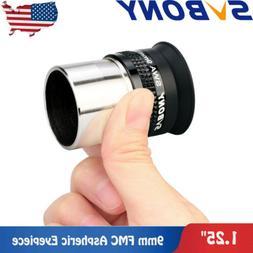 SVBONY Telescopes Eyepieces 9mm Wide Angle 72° Aspheric Len