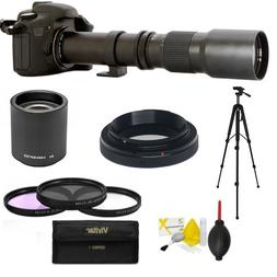 PROFESSIONAL HD 500-1000MM TELESCOPIC TELEPHOTO LENS FOR NIK