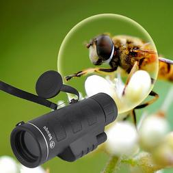 TOP Outdoor Day&Night Vision 40X60 HD Optical Monocular Hunt