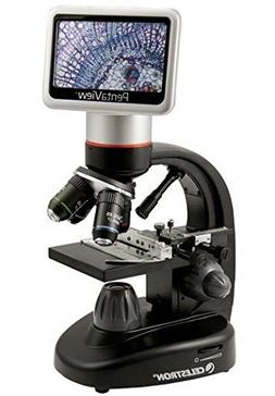 LCD Touch Screen 40x to 2400x Digital Microscope and Lieder