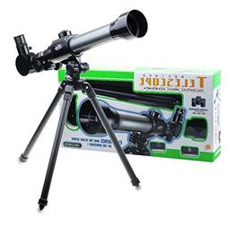 TraveT Toys Mobile 20/30/40x Telescope for Kids, Beginner Te