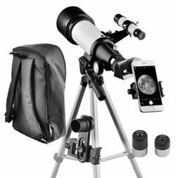 Travel Scope 70mm Apeture 400mm AZ Mount Telescope for Kids