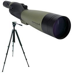 Celestron Ultima 100 22-66x100mm Spotting Scope  w/TrailSeek