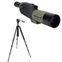 Celestron Ultima 65mm Spotting Scope w/18-55x Eyepiece  w/Tr