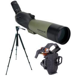 Celestron Ultima 80mm Spotting Scope w/20-60x Wide Angle Eye