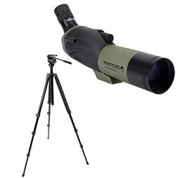 Celestron Ultima 65mm Spotting Scope with18-55x Eyepiece  an