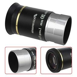 "Astromania 1.25"" 20mm 66-degree Ultra Wide Angle Eyepiece fo"