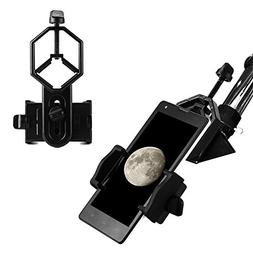Eyeskey Universal Cell Phone Adapter Mount - Compatible With