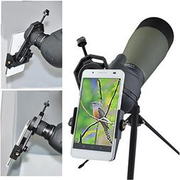 Universal Cell Phone Adapter Mount – Compatible with Binoc