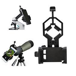 Universal Smartphone Camera Mount - Microscope, Telescope, B