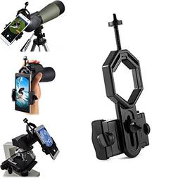 Universal Telescope Cellphone Adapter Mount, Work with Binoc