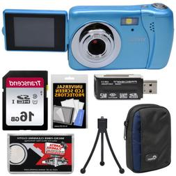 Vivitar ViviCam VXX14 HD Selfie Digital Camera Blue