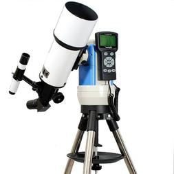 White 80mm Computer Controlled Refractor Telescope