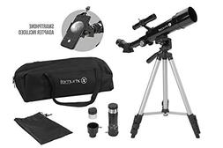 Zhumell Z50 Portable Refractor with Tripod, Phone Adapter &